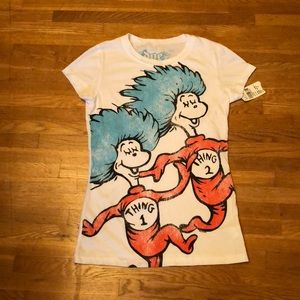 Delia's Thing 1 Thing 2 Fitted Tee Shirt